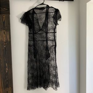 Trina Turk Lace Dress Size 8